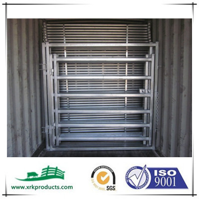 galvanized portable cattle gates