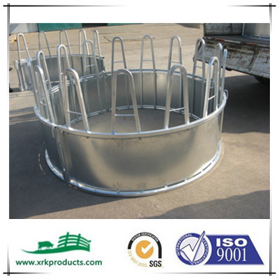 Hot dipped galvanized cattle round hay feeder