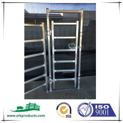 galvanized cattle swing gate