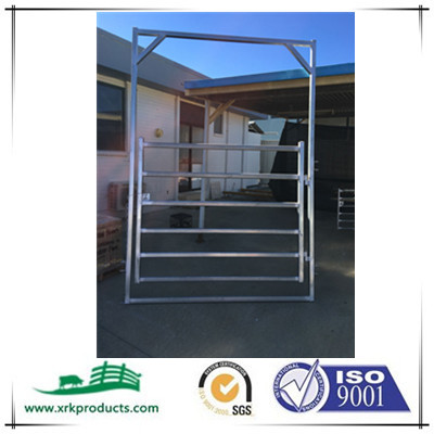 galvanized horse gate panel